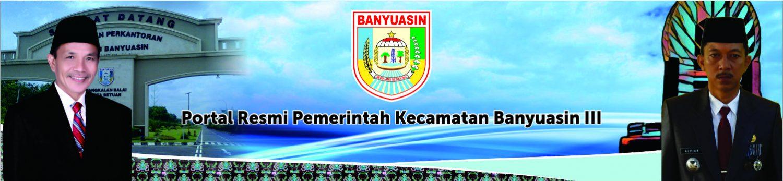 Situs Resmi Kecamatan Banyuasin III